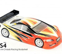 БЛИЦ Mini RS4 Race Body (210мм) (0,8мм)