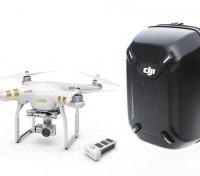DJI Phantom 3 Professional с возможностью установки дополнительной батареи и Hardshell Рюкзак