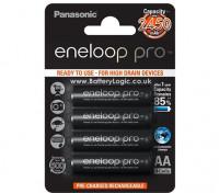 Panasonic Eneloop Pro Батарея AA 2450mAh NiMH (4 шт)