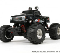 Башер 1/16 4WD Mini Monster Truck V2 - HellSeeker (Kit)