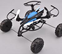 Quadcopter происходящий на земле, на море и в воздухе