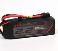 Turnigy 2200mAh 3S Графен 45C LiPo Аккумулятор ж / XT60
