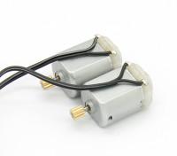 130 коллекторного мотора (2 шт) - раздолбай RockSta 1/24 4WS Mini Rock Гусеничные