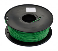 HobbyKing 3D Волокно Принтер 1.75mm PLA 1KG золотника (темно-зеленый)