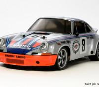 Tamiya 1/10 Масштаб Porsche 911 Carrera RSR (TT-02 шасси) 58571