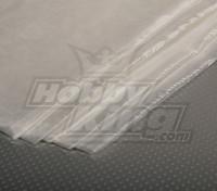 Стеклянные волокна ткани 450x1000mm 18г / м2 (Супер тонкий)