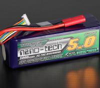 Turnigy нано-технологий 5000mAh 6S 35 ~ 70C Lipo обновления