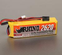 Rhino 2620mAh 3S 11.1V низкого разряда передатчик LiPoly обновления