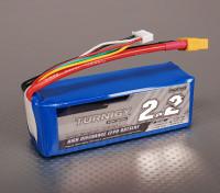 Turnigy 2200mAh 4S 40C Lipo обновления