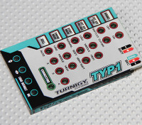 Turnigy TY-P1 25Amp Brushless ESC Card Программирование