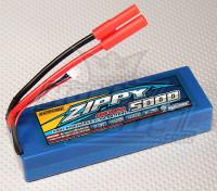 ZIPPY 5000mAh 2S1P 20C Hardcase пакет