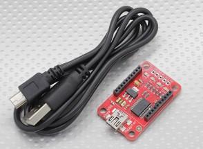 Kingduino Xbee Mini-USB адаптер