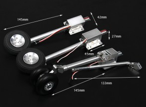 Turnigy Full Metal SU37 Стиль Крупномасштабная Servoless втянутых с Oleo ног