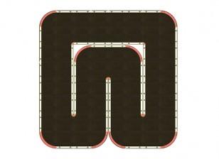 Mini-Q Indoor Car Racetrack (64 Tile)