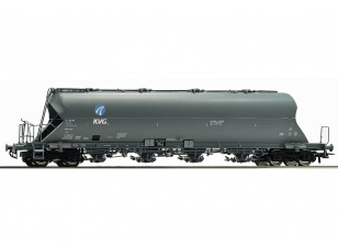 Roco HO Double Bogie Coal Dust Carrier Wagon DB AG (KVG)