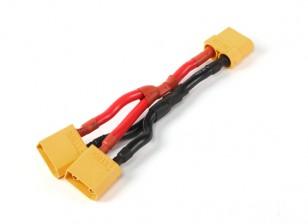 XT90 батареи жгута проводов 10AWG для 2-х пакетов в параллельных