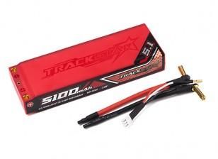 Trackstar 5100mAh 7.4V 70C Lipo Car Pack 2S2P