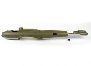 Hobbyking 1875mm B-17 F / G Flying Fortress (V2) (Olive) - Фюзеляж 1350мм