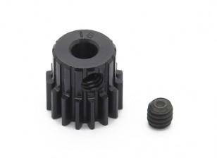 Робинсон Гонки Черный анодированный алюминий шестерней 48 Pitch 16T