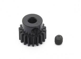 Робинсон Гонки Черный анодированный алюминий шестерней 48 Pitch 18T