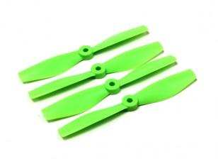 Diatone Булл Нос Поликарбонат пропеллеры 5040 (CW / CCW) (зеленый) (2 пары)