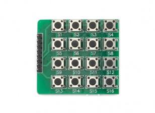 Kingduino 4x4 модуль кнопочная клавиатура