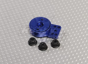 Синий Алюминиевый Heavy Duty Servo Saver