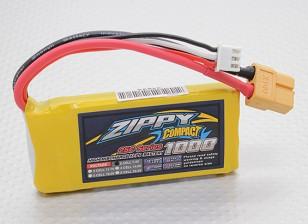 ZIPPY Компактный 1000mAh 2S 25C Lipo обновления