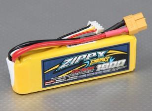 ZIPPY Компактный 1800mAh 3S 25C Lipo обновления