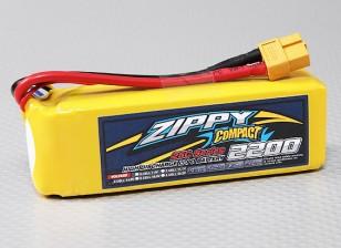 ZIPPY Компактный 2200mAh 4S 25C Lipo обновления