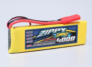 ZIPPY Компактный 4000mAh 2S 25C Lipo обновления