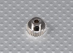 33T / 3.175mm 64 Pitch сталь шестерней