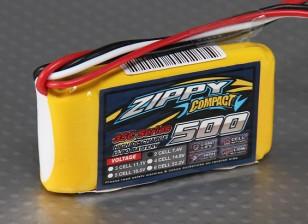 ZIPPY Компактный 500mAh 2S 35C Lipo обновления