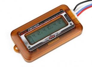 Turnigy DLUX LIPO батареи сотового Дисплей и балансир (2S ~ 6S)