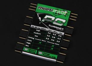 Turnigy Multistar ESC Card Программирование