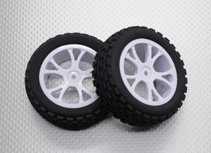Передняя Багги шин Набор 2sets (Split 5-спицевые) - 1/10 Quanum Вандал 4WD Гонки Багги (2 шт)