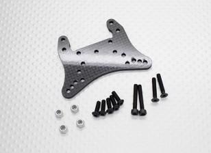 Углеродного волокна передних амортизаторов Tower - 1/10 Quanum Вандал 4WD Гонки Багги