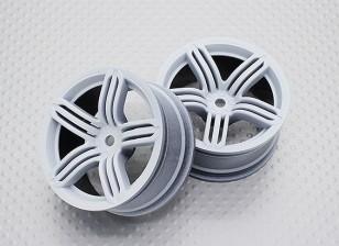 Масштаб 1:10 Touring High Quality / Дрейф Колеса RC автомобилей 12mm Hex (2pc) CR-RS6W