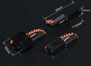 Turnigy Full Metal Servoless 90 градусов Ретракты ж / Steerable Нос Ассамблеи (6мм контактный)