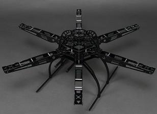 Рама 655mm HobbyKing S650 Стекловолокно Hexcopter