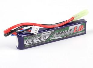 Turnigy нано-технологий 1000mAh 2S 20 ~ 40C Lipo AIRSOFT пакет