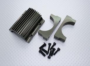 Крепление двигателя и охлаждения Fin Set - Реактивные клоуны Башер 1/8 Scale Monster Truck
