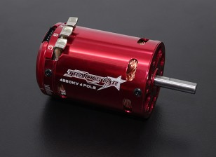 Trackstar 540 размер 4 полюс 4250KV Sensored Motor