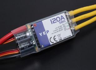 Hobbyking YEP 120A LV (2-6S) Бесщеточный контроллер скорости с возможностью выбора ЦМП