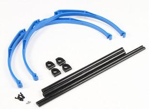M200 Краб ноги Шасси Набор DIY (синий)