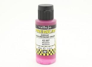 Вальехо Премиум Цвет Акриловая краска - Magenta (60ml)