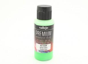 Вальехо Премиум Цвет Акриловая краска - зеленый Fluo (60мл)