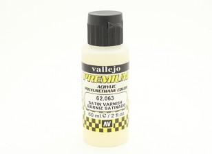 Вальехо Премиум Цвет акриловый лак - сатин (60мл)