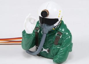 Доктор MadThrust Встроенный в HD Cam Jet Pilot (H93 х W75 х D90mm)