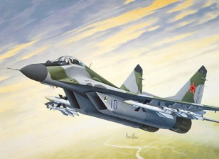 Italeri 1/72 Scale МИГ-29A Fulcrum Plastic Model Kit